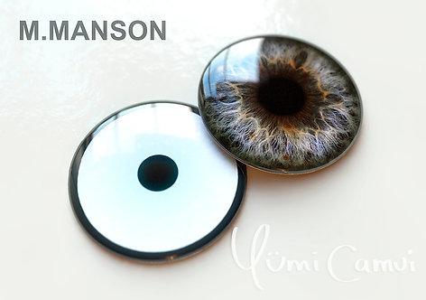 Blythe eye chip 14 mm M.Manson