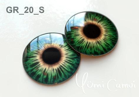 Blythe eye chip 14 mm GR_20
