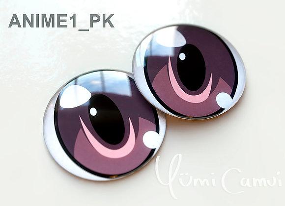 Blythe eye chip 14 mm Anime1