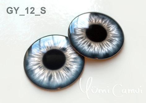 Blythe eye chip 14 mm GY_12