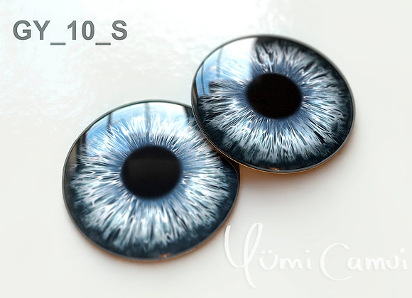 Blythe eye chip 14 mm GY_10