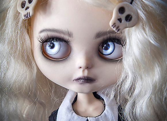 Custom Neo Blythe doll Lenore the cute little dead girl