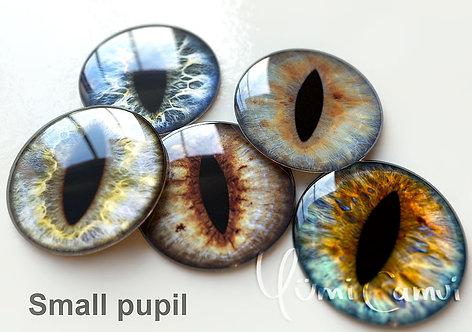 Cat Pupil option Blythe eye chip 14 mm