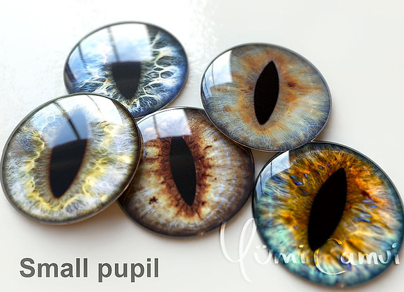 Cat Pupil option Blythe eye chip 14 mm