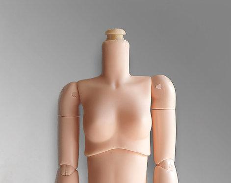 Obitsu 24 Blythe neck adapter Yumi neck mod