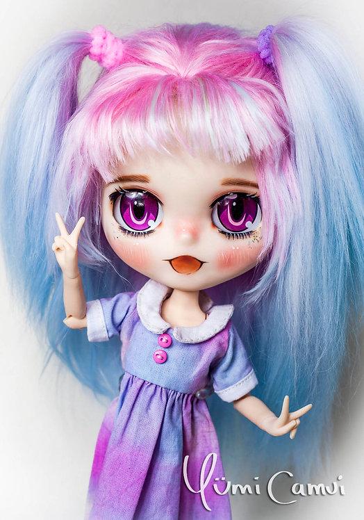 Custom Neo Blythe anime doll Yuki