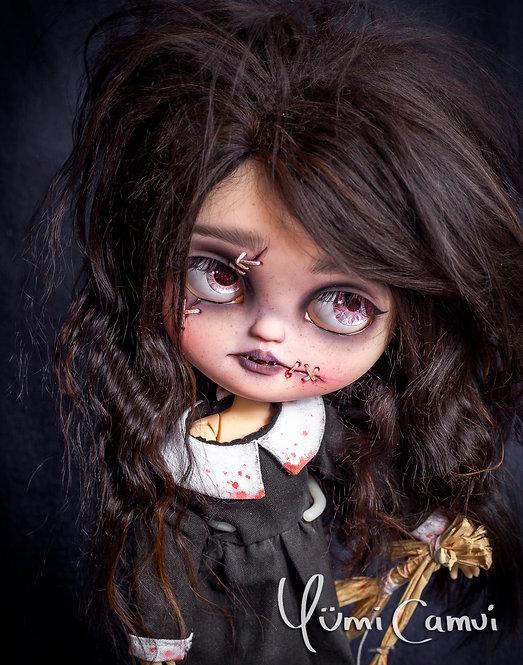 Custom Neo Blythe monster girl Yuki