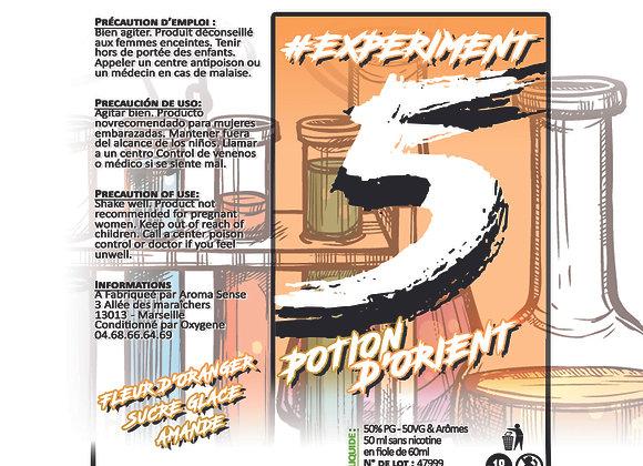 Experiment - #5 Potion d'orient