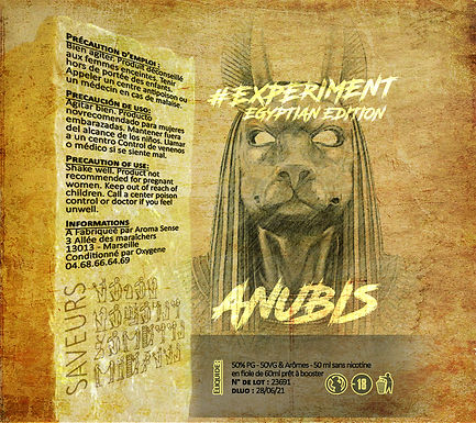Experiment - #Egyptian Anubis