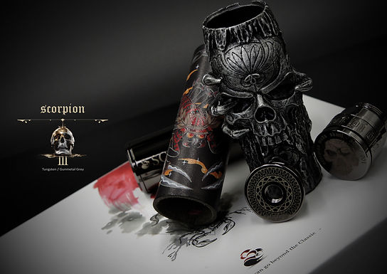 Scorpion Mods - Skull Edition