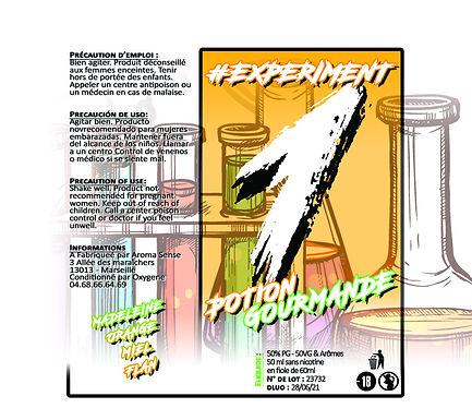 Experiment - #1 Potion gourmande