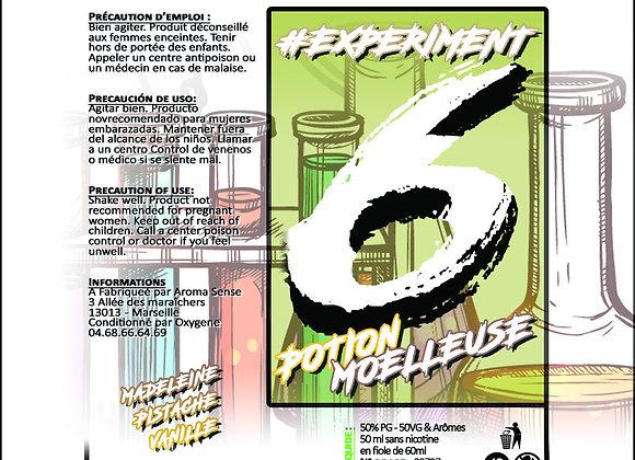 Experiment - #6 Potion moelleuse