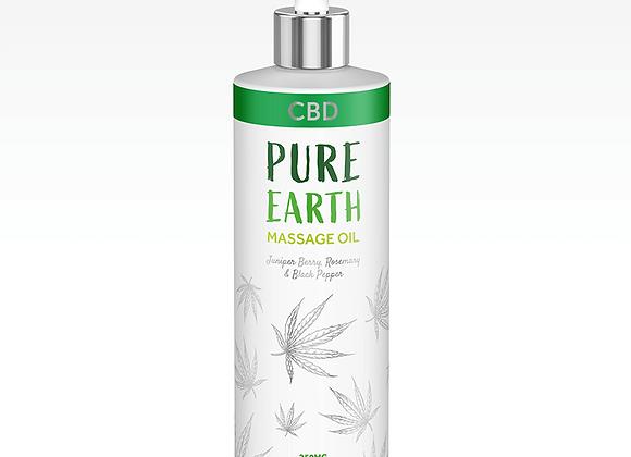 Huile de massage au CBD - Pure Earth