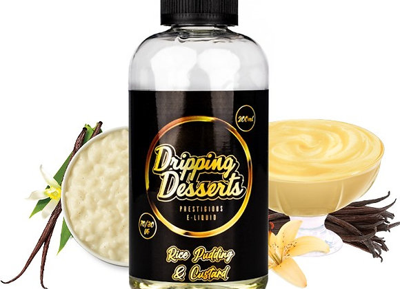 Dripping Desserts - Rice Pudding and Custard 200ml