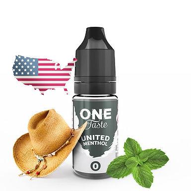 One Taste - United Menthol