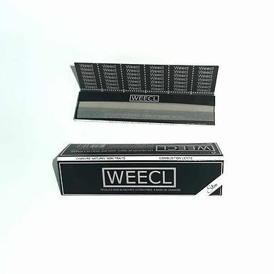 Feuilles à rouler Weecl, chanvre naturel
