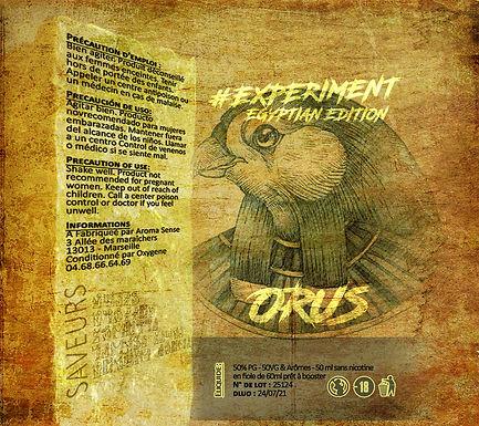 Experiment - #Egyptian Orus