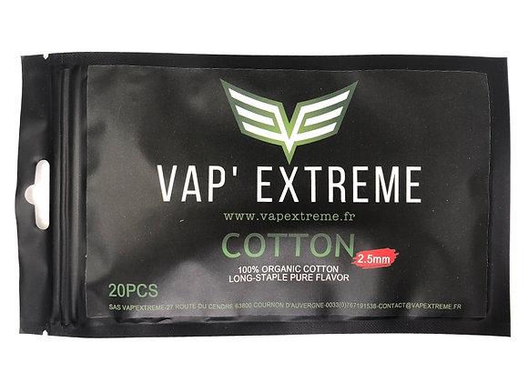 Vap'extrem - Coton Bande 2.5mm et 3mm