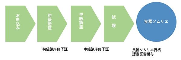 試験の流れ図