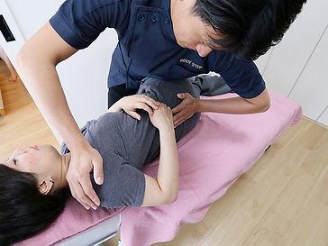 腰矯正施術