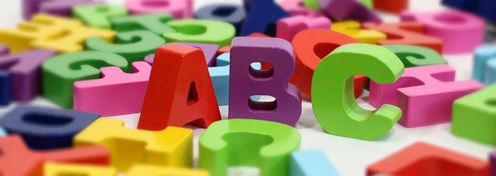 アルファベット模型