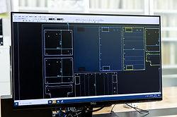 CAD画面