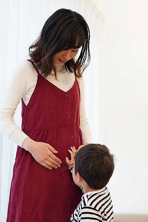 妊娠中のママ