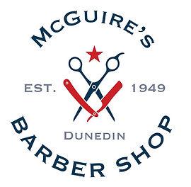 McGuire's Barber Shop Ad Inside front co