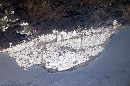 Treibhaeuser_Andalusien_NASA_Johnson_ISS