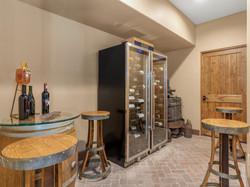 239 E Jeffrey Pine Rd wine cellar