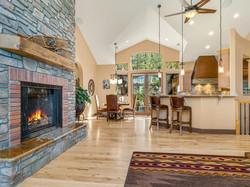 239 E Jeffrey Pine Rd fireplace