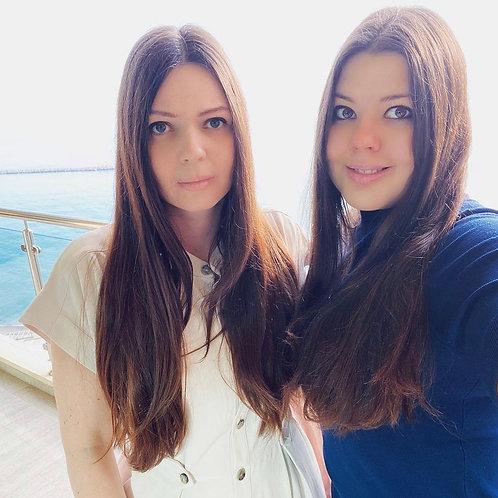 Будаевы Мари Андреевна и Лина Андреевна – основательницы онлайн-журнала Maevka27