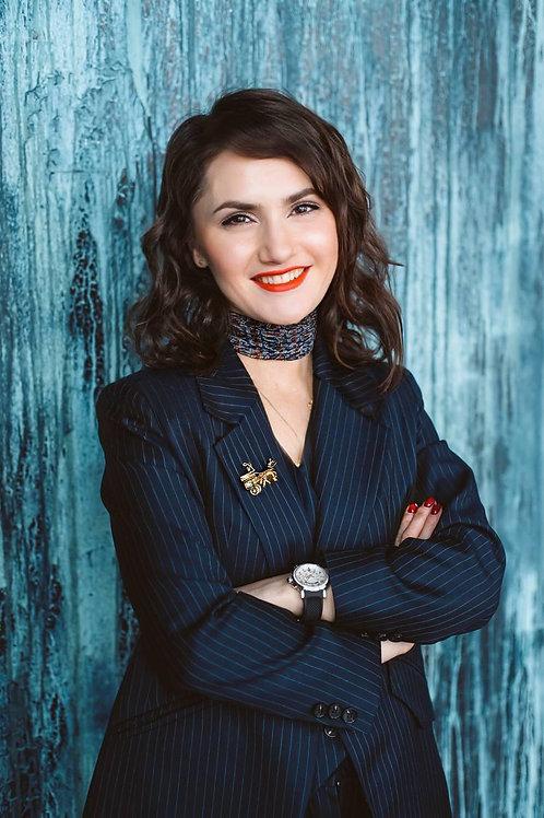 Виктория Петрук - сертифицированный коуч высокой эффективности