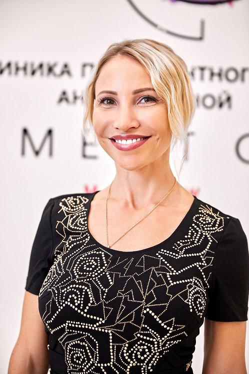 """Анна Савина - основатель сети арт-клиник перманентного макияжа """"Pigment Club"""""""