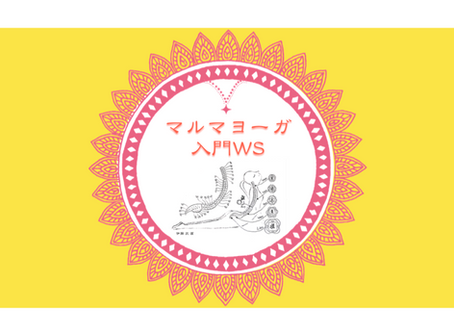 マルマヨーガ入門WS 〜ONLINE〜