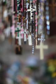 Shrine at El Santuario de Chimayo, NM