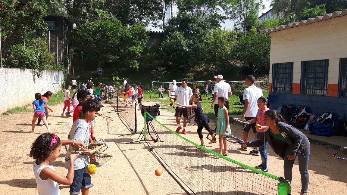 Tenis e Badmington no CCA Jaçanã