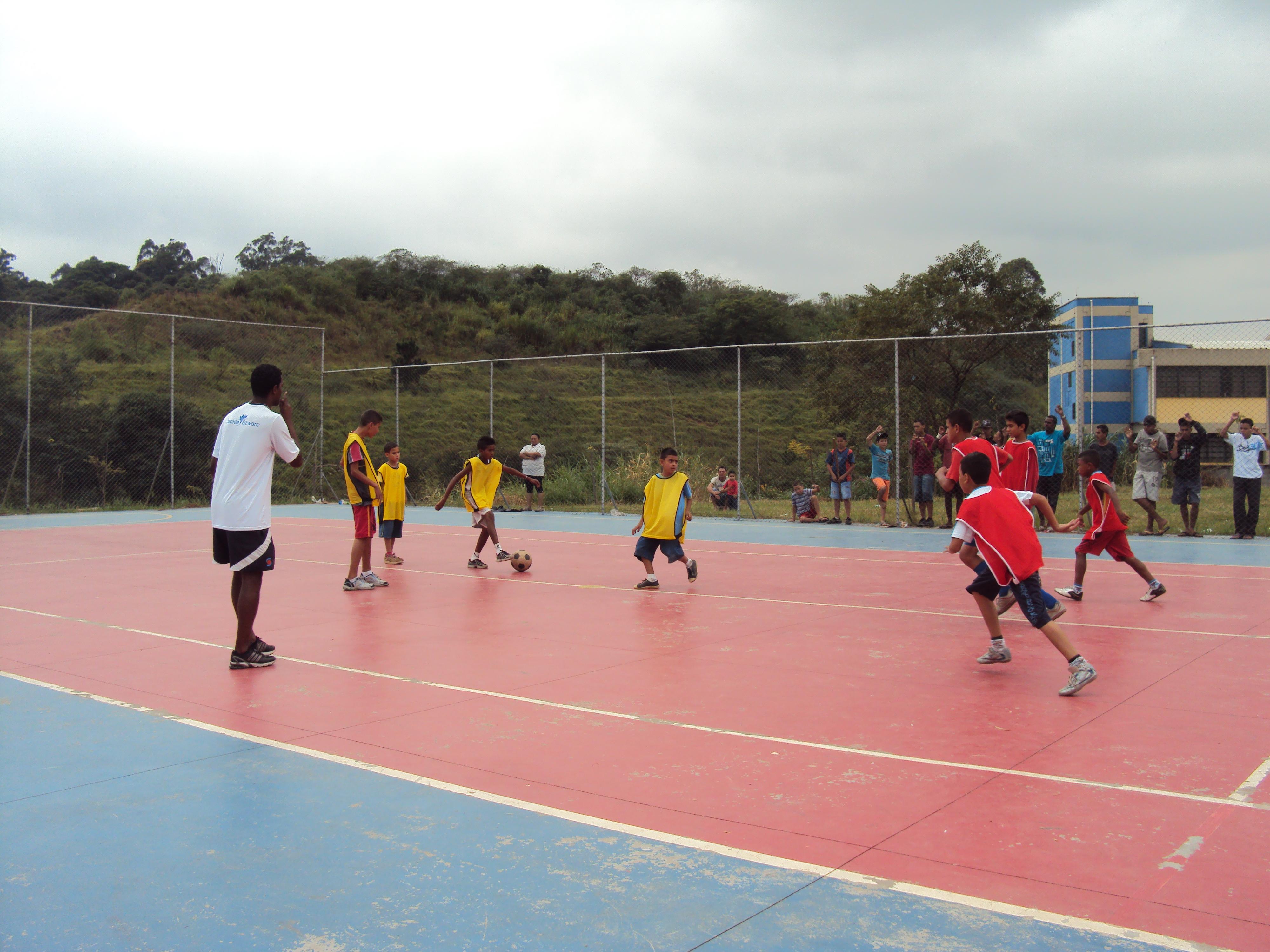 Aula de Futebol City Jaraguá 2010