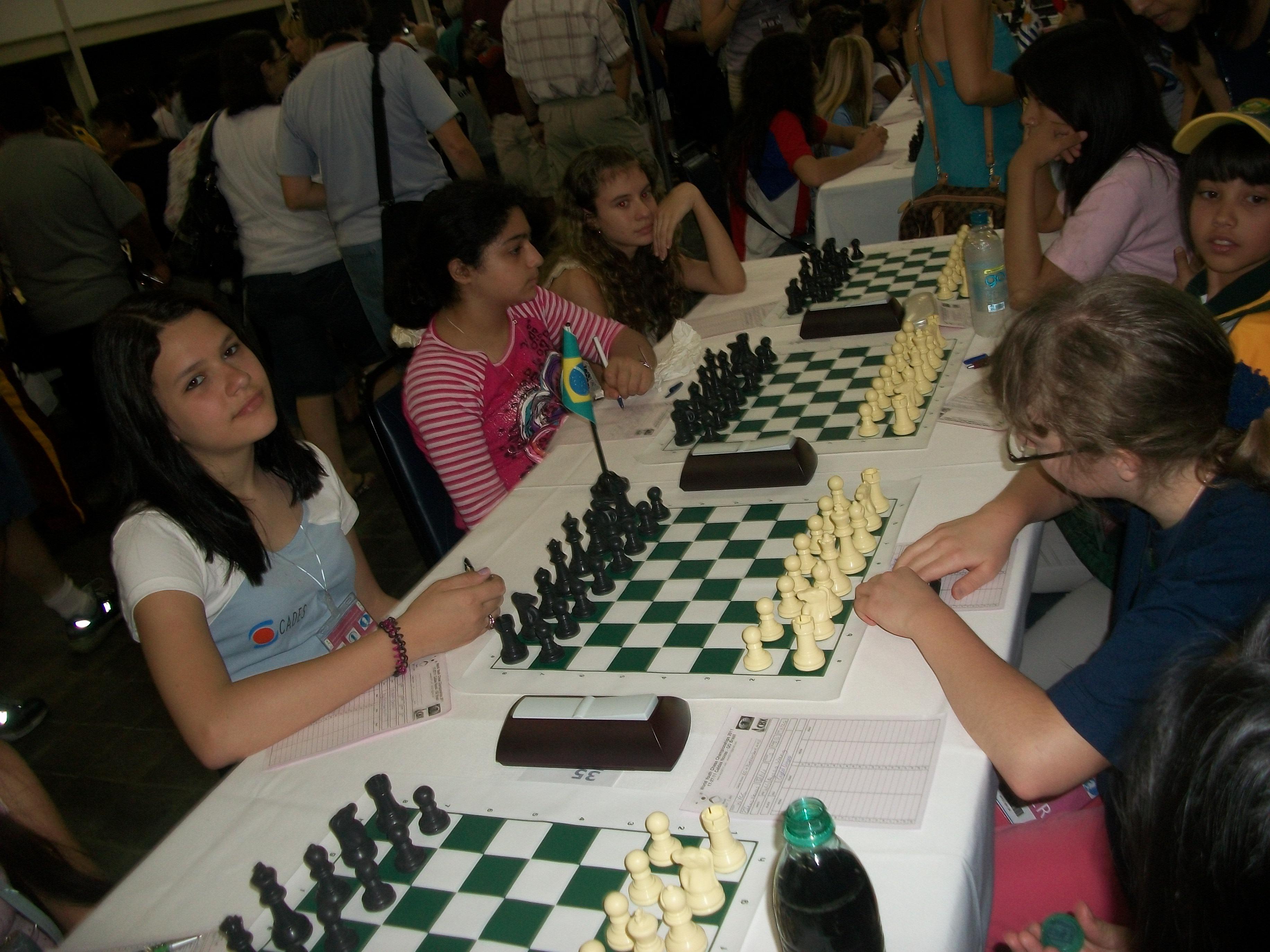 Aghata no Mundial Xadrez 2011