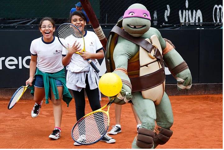 Oficinas de Tenis durante Brasil Open de 2016