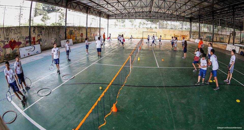 Tênis para Todos Paraisópolis