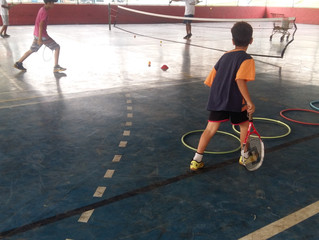 """Em tempos de prisão domiciliar,  brincar na escola  é  termo de liberdade """"incondicional"""""""
