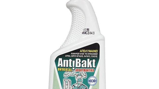 Antibakt Universal απολυμαντικό - καθαριστικό επιφανειών σε σπρέι 710ml