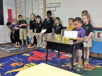 Candil Hall Academy Kindergarten Class Private School Northwest Las Vegas