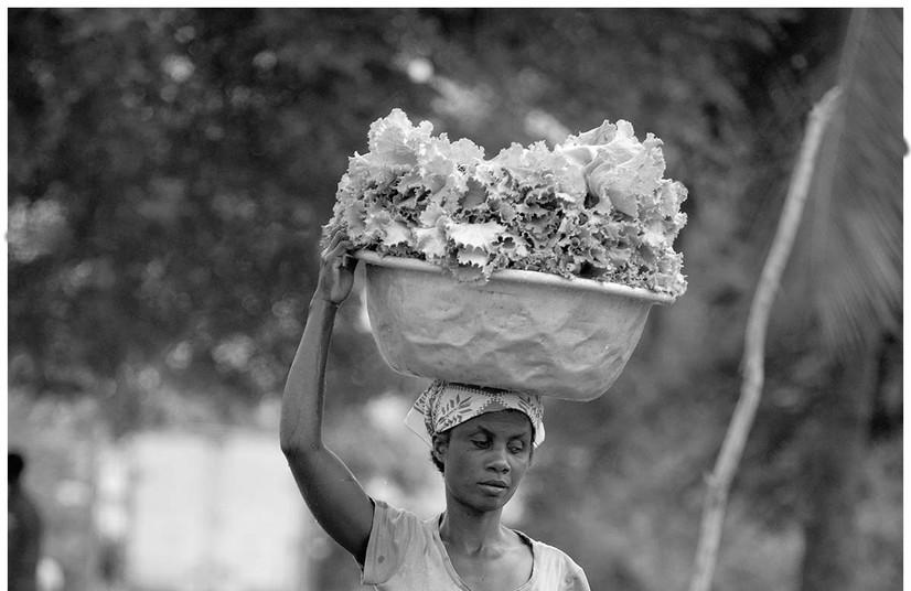 Blind Vegetable Street Vendor