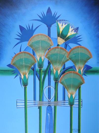 Painting by Joe Newton