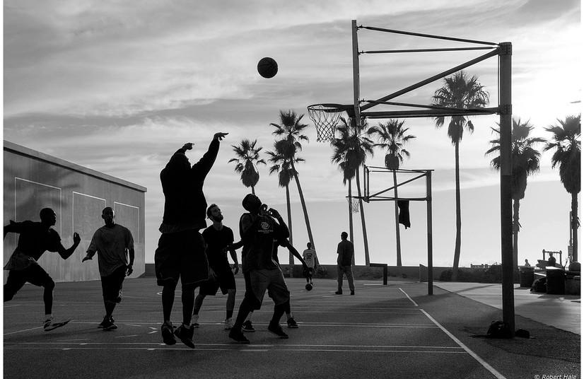 B-Ball Venice Beach, California