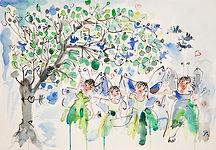 Aquarelle diverse de Jehanne Guérard