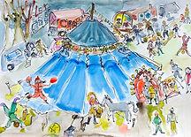 Léna et le cirque