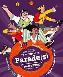 Flyer des parades de Nanterre